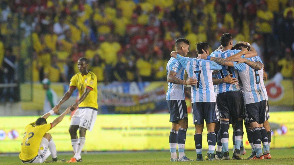Ponturi pariuri fotbal preliminarii Mondial - Argentina vs Columbia