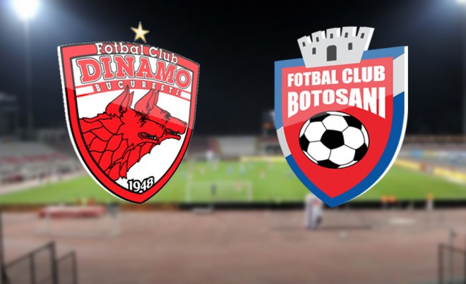 Ponturi pariuri fotbal Romania - Dinamo vs FC Botosani