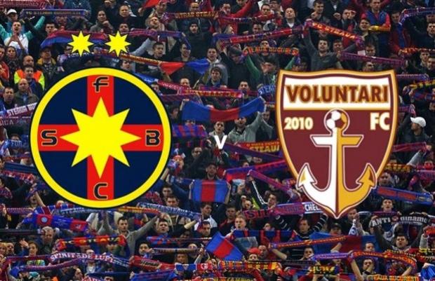 Ponturi pariuri Romania – FC Steaua Bucuresti vs FC Voluntari
