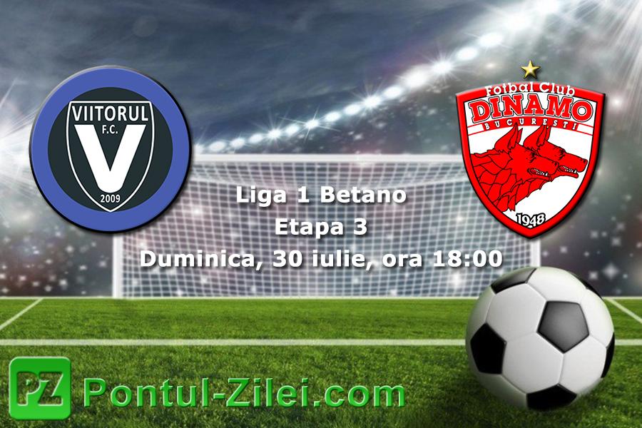 FC Viitorul - Dinamo 5-0 I Din 2014 Dinamo n-a mai patit o ...  |Viitorul Dinamo