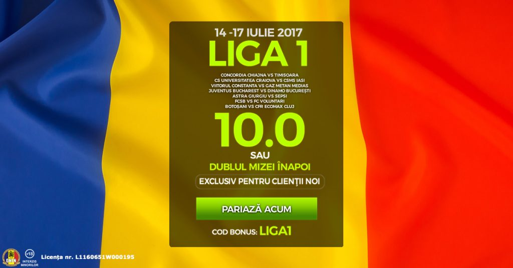 Biletul zilei la pariuri din fotbal | Mizam la Maxbet pe Liga 1