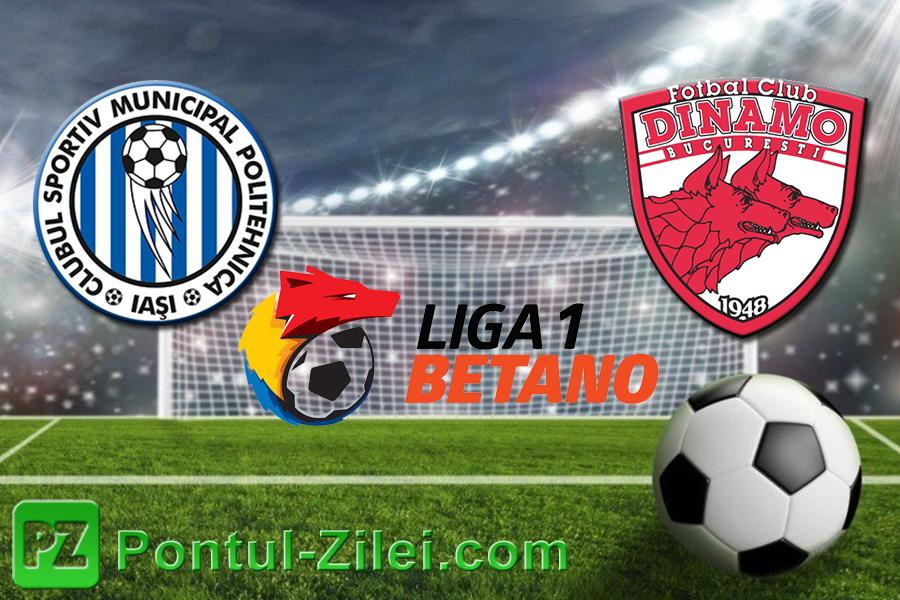 Dinamo vs Poli Iasi ponturi pariuri – Romania Liga 1 – 22 ... |Dinamo- Poli Iasi