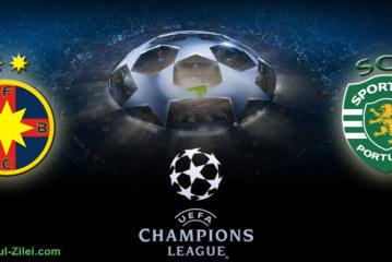 Bonusuri si promotii pentru FCSB vs Sporting!