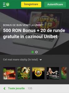 Dealeri live, jocurile si bonusurile pe care le gasiti in Casino Unibet
