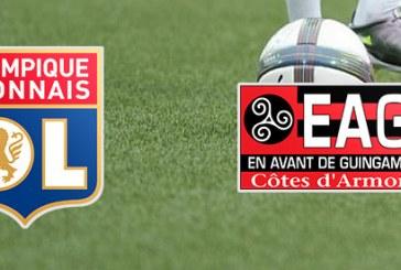 Lyon, favorita contra lui Guingamp